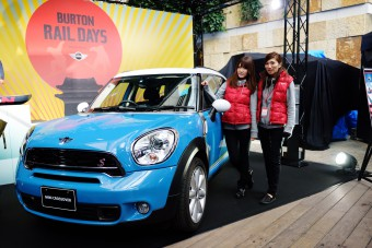 『BURTON RAIL DAYS presented by MINI』