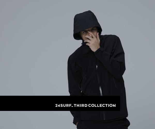 〈24SURF_〉3rd COLLECTIONのルックブックを公開