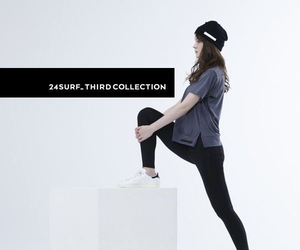 〈24SURF_〉3rd COLLECTIONのルックブック