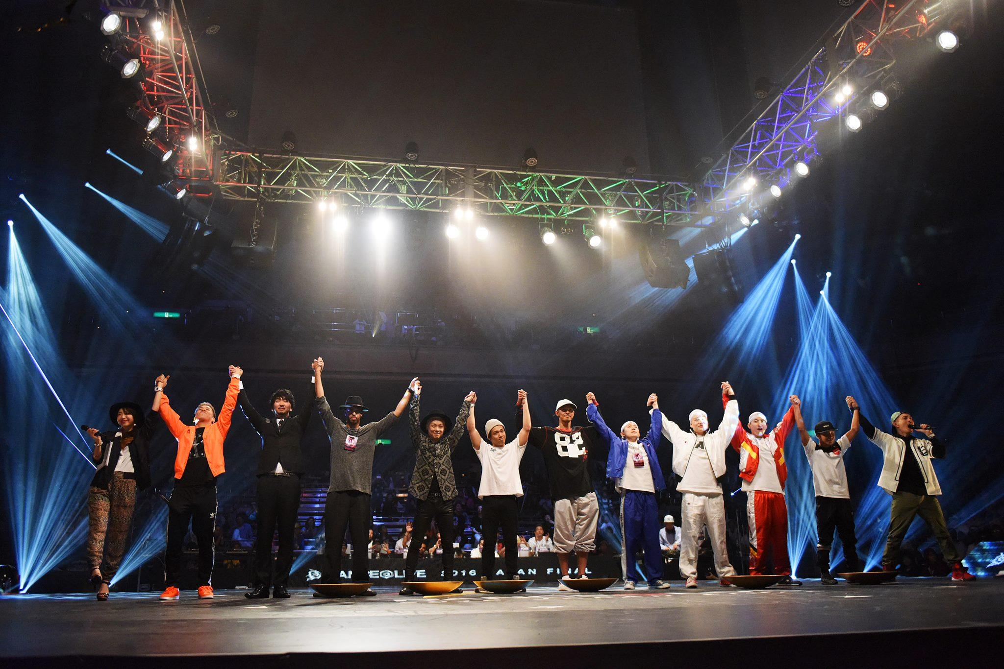 『DANCE@LIVE 2016 JAPAN FINAL』結果