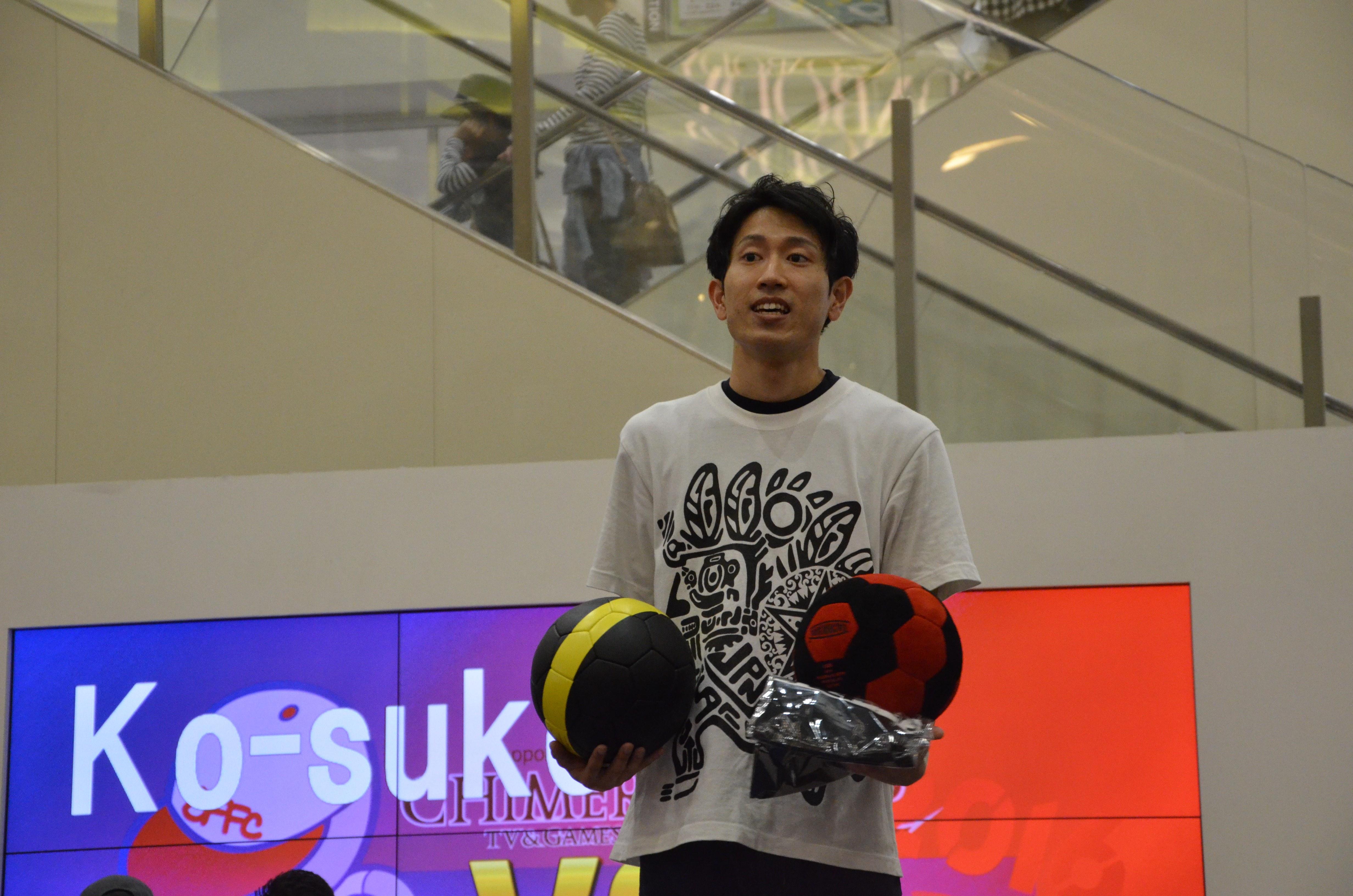 『Freestyle Football Championship2016』NAO