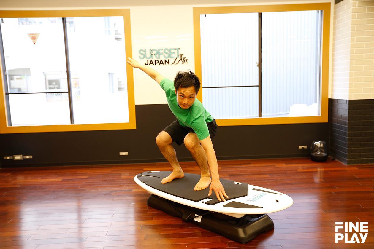 サーフボードを使用したフィットネス「SURFSET」関西初上陸!