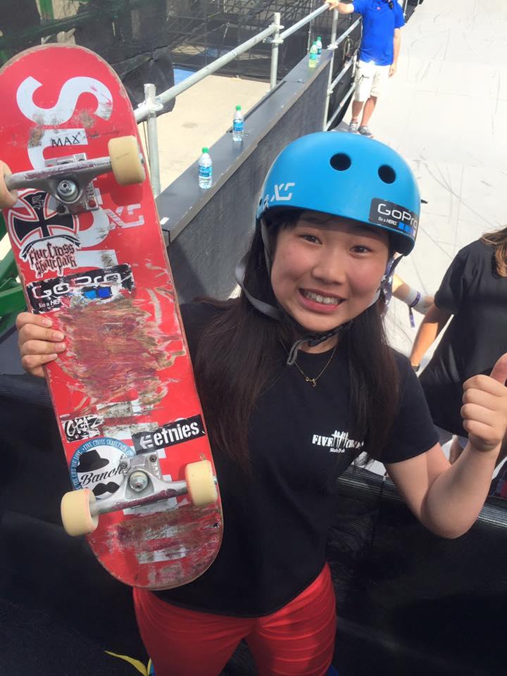 中村貴咲がX GAMES AUSTIN 2016 スケートボードパークで優勝!