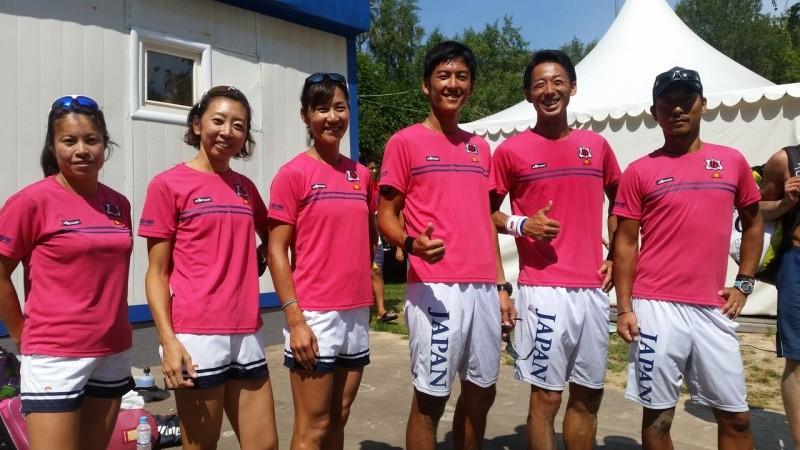 elleseがビーチテニス日本代表チーム公式ウエアサプライヤーとしてオフィシャルウエアを提供