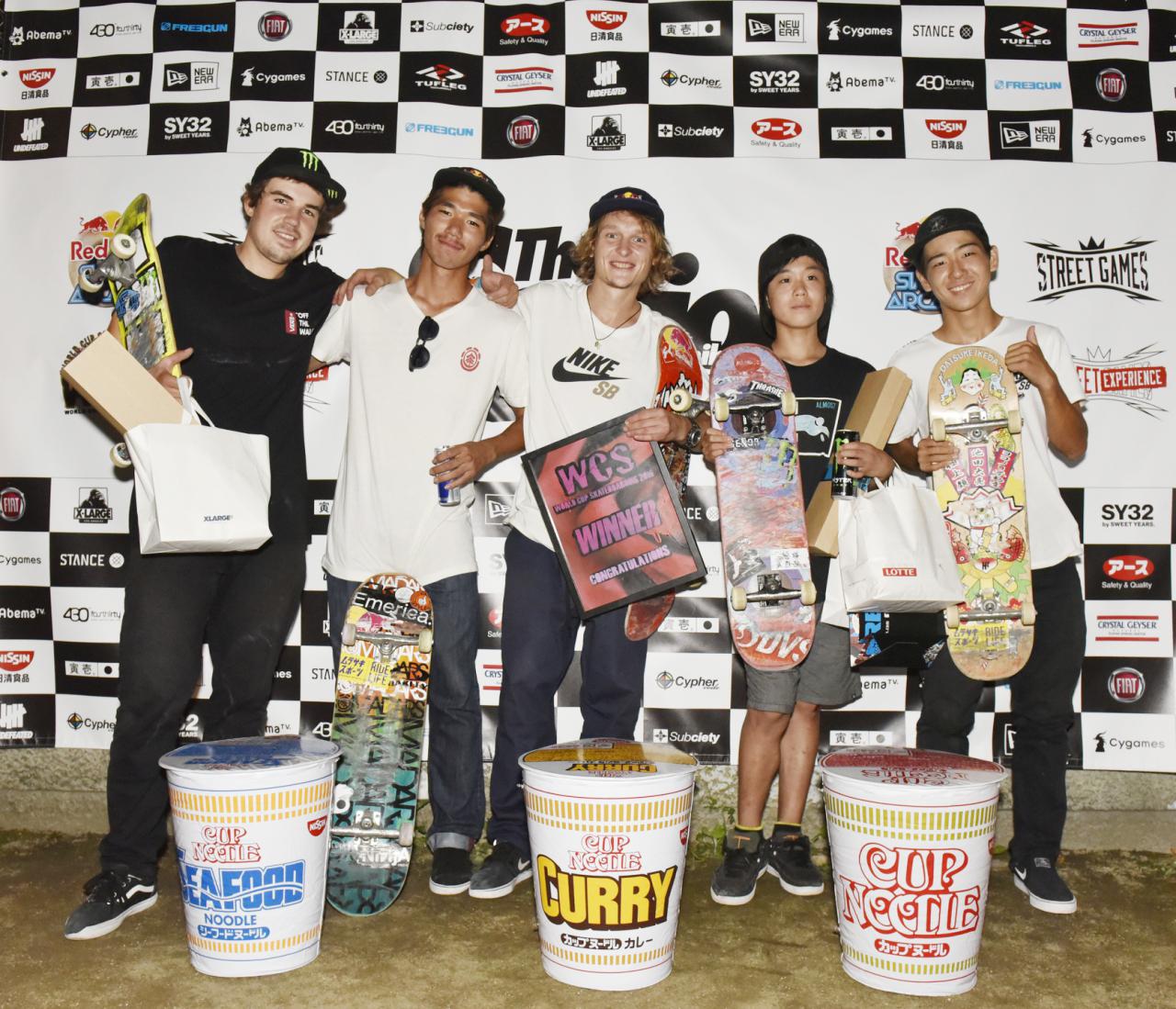 「World Cup Skateboarding Japan Round」優勝はMaxim Kruglov!瀬尻稜はじめ日本人3名入賞!!