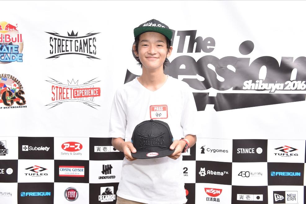 白井空良(Skateboarding)