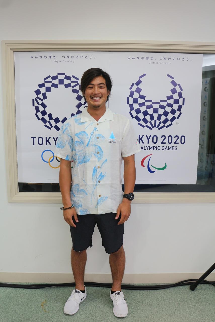 サーフィン東京五輪種目決定に「波乗りジャパン」の大橋海人がコメント