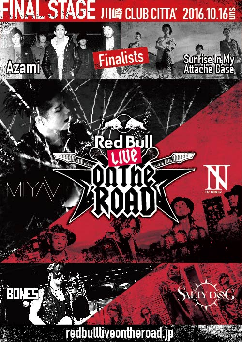 RED BULL LIVE ON THE ROAD 2016 FINAL STAGE