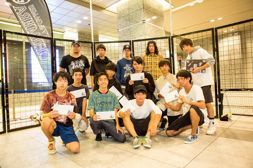 22歳以下のフリースタイルフットボール日本一を決める『JFFC U-22』がお台場で開催!