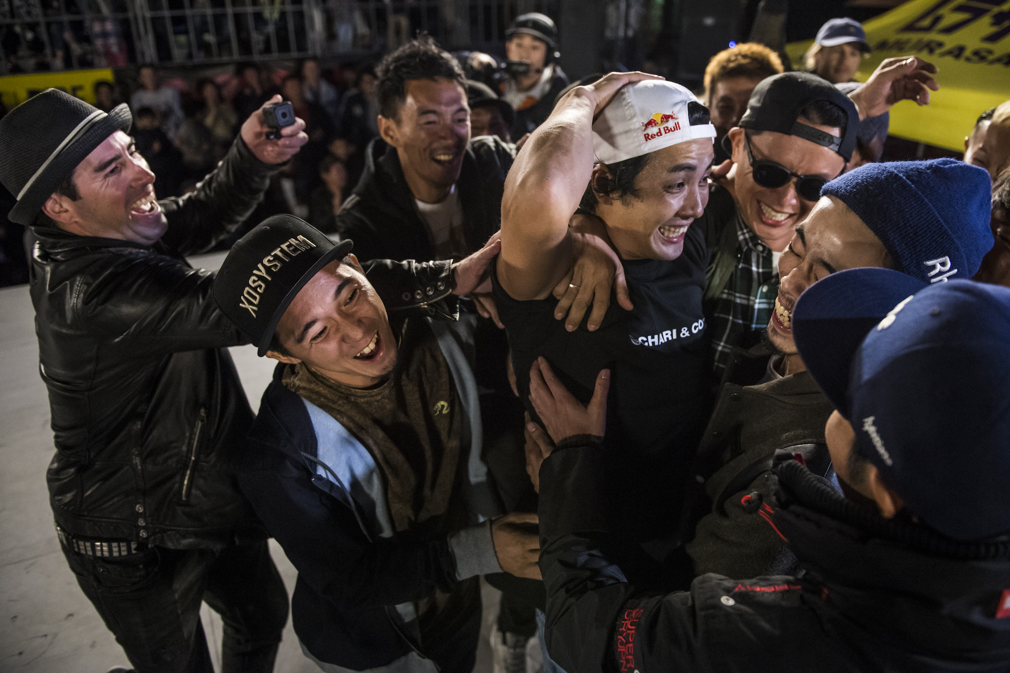 BMX フラットランド真の世界王者決定戦「FLAT ARK」で内野洋平が優勝!