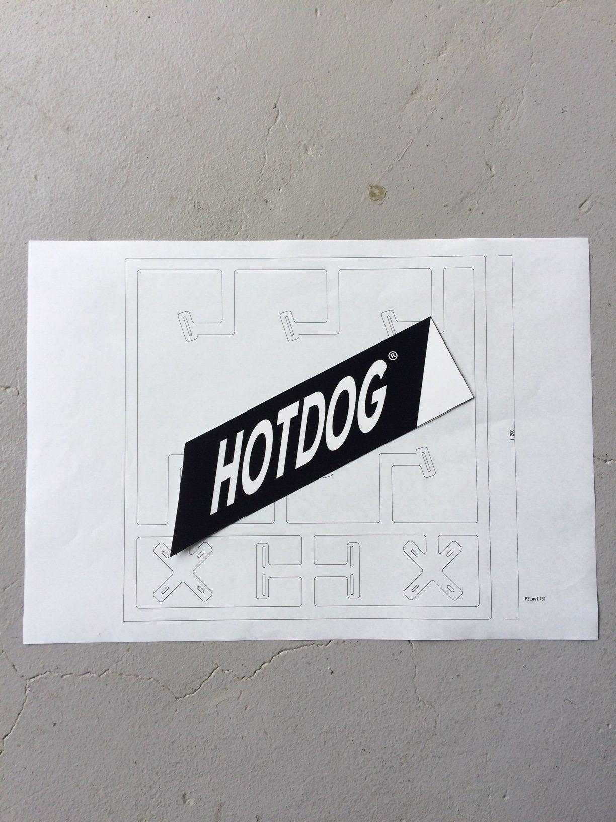 """HOTDOG""×ORGANIC TABLE BY LAPAZ"