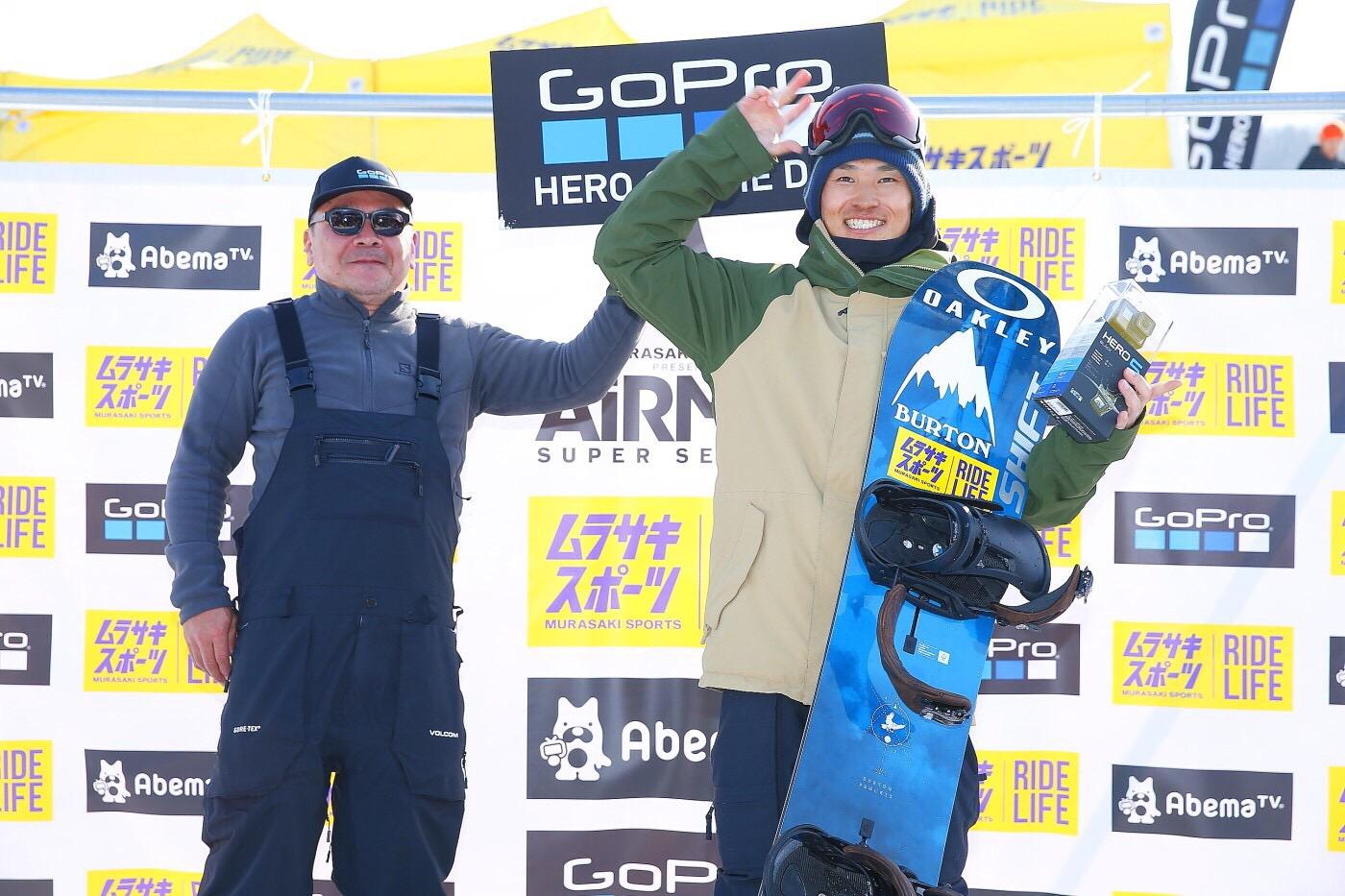 <GoPro HERO OF THE DAY:石田貴博>