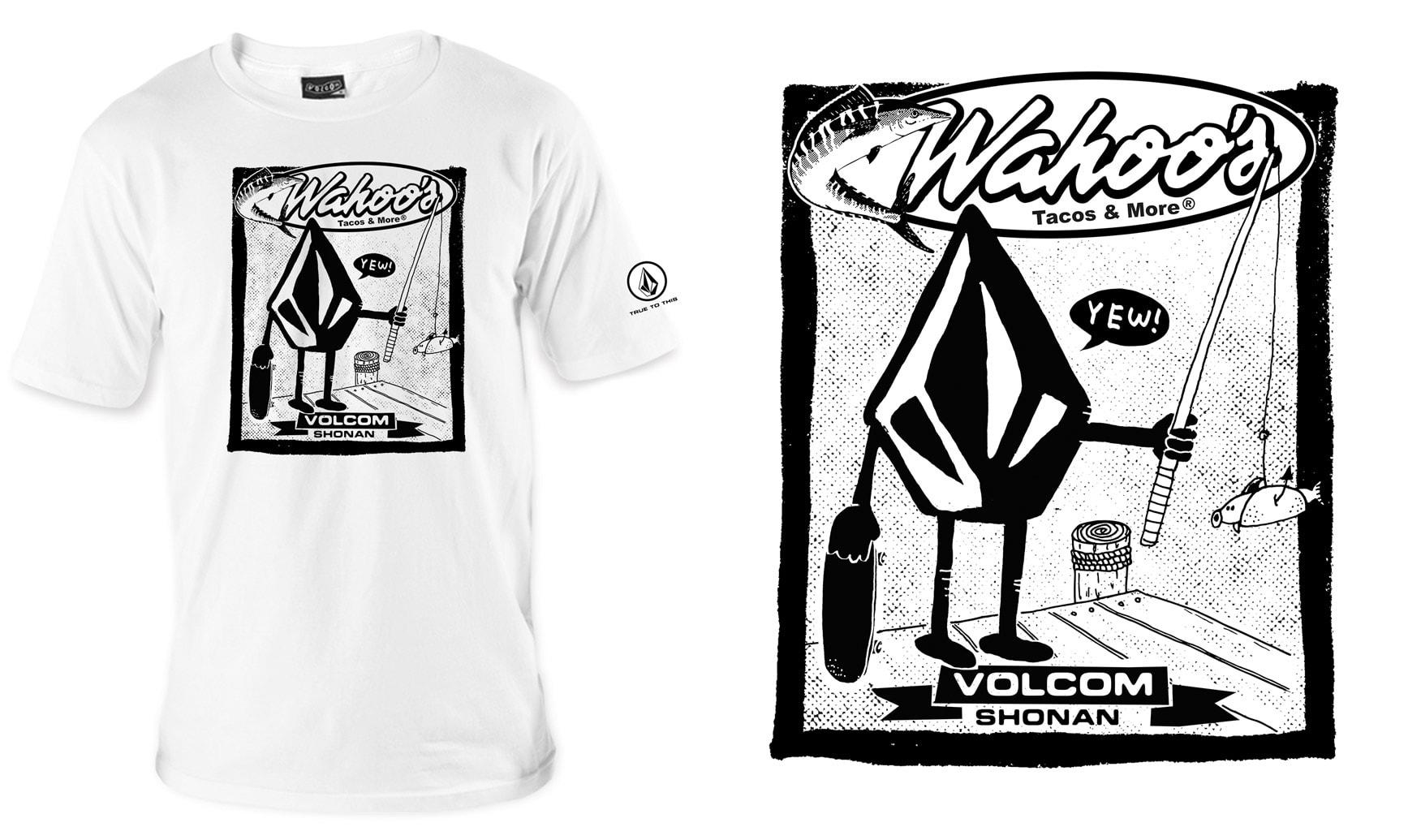 VOLCOM x Wahoo's TEE