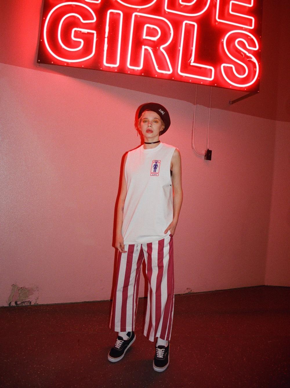 "X-girlとスパイク・ジョーンズのスケートボードブランド ""GIRL-skateboards""がコラボレーション"