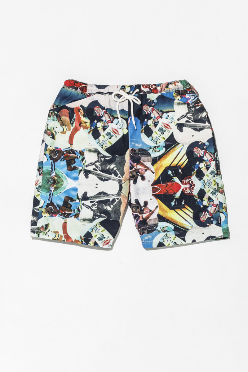 SSS x NATAL DESIGN Photo Print Swim Shorts ¥15,000