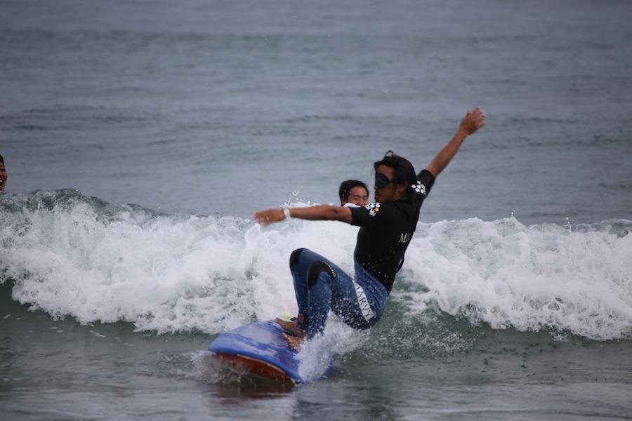 ブラインドサーフィン