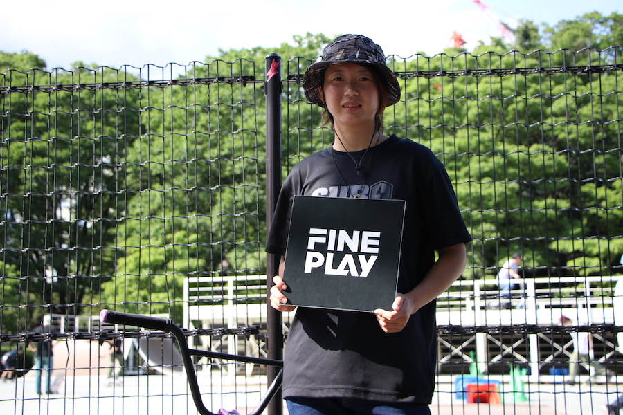 BMXライダー大池水杜