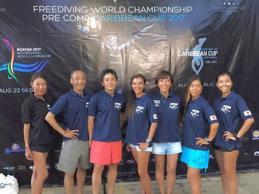 フリーダイビング世界選手権2017 in ロアタン開幕