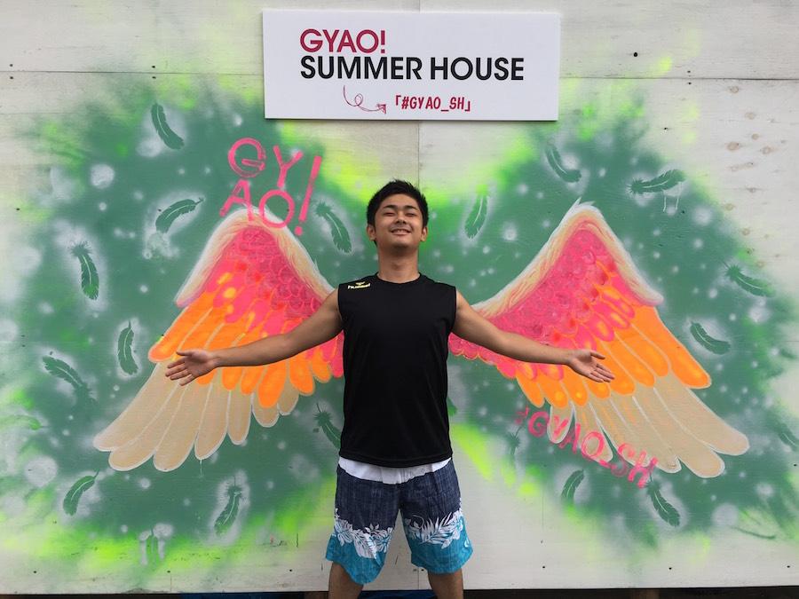 夏といえば? GYAO!海の家