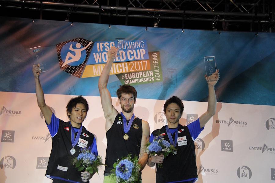 【ダイジェスト映像】ボルダリングW杯の最終戦、日本3選手が表彰台