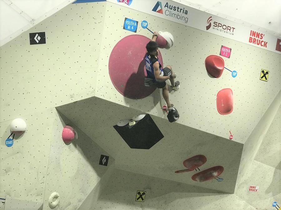 IFSC世界ユース選手権ボルダリング