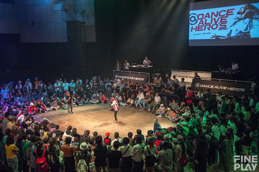 『DANCE ALIVE HERO'S 2018 KANTO CHARISMAX』結果