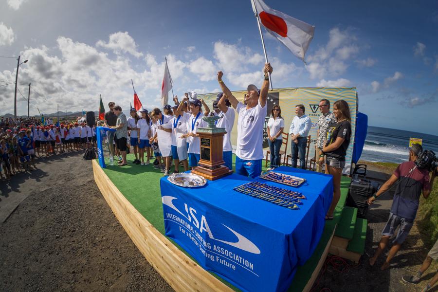 2017 VISSLA ISA 世界ジュニアサーフィン選手権開催