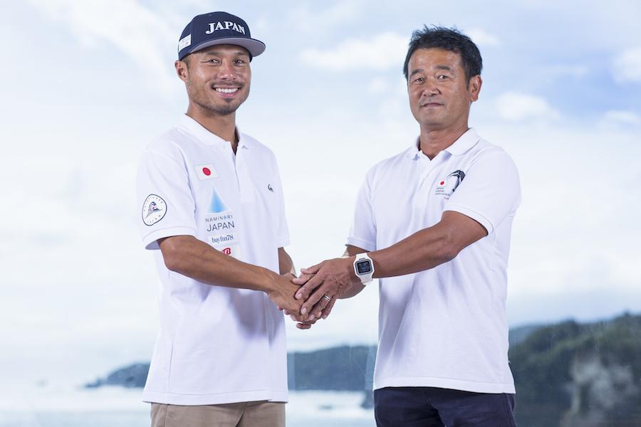 クイックシルバーが「波乗りジャパン」とスポンサーシップ契約を締結