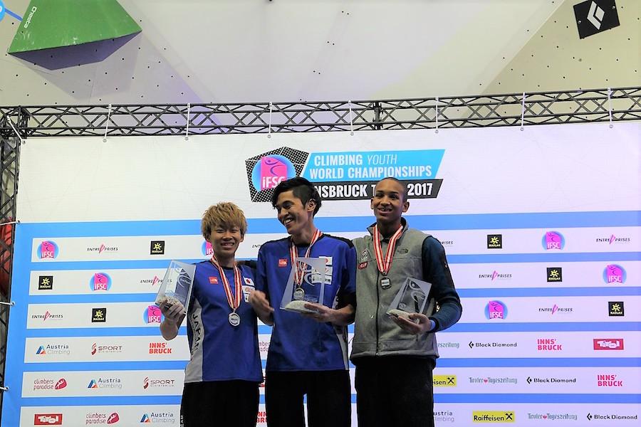 日本勢が怒涛のメダルラッシュ!「IFSC世界ユース選手権コンバインド」