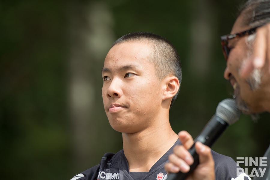 島田遼選手