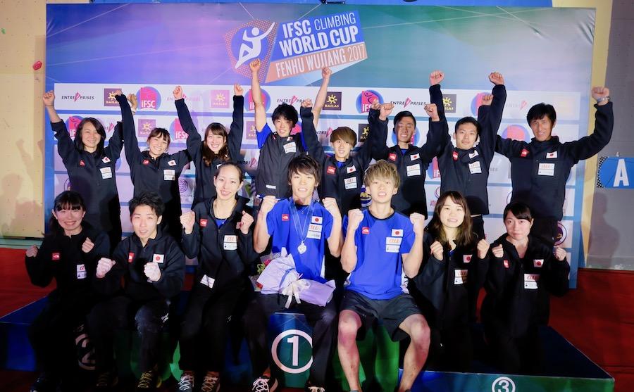 楢﨑智亜が自身初の2位「IFSCリードワールドカップ」