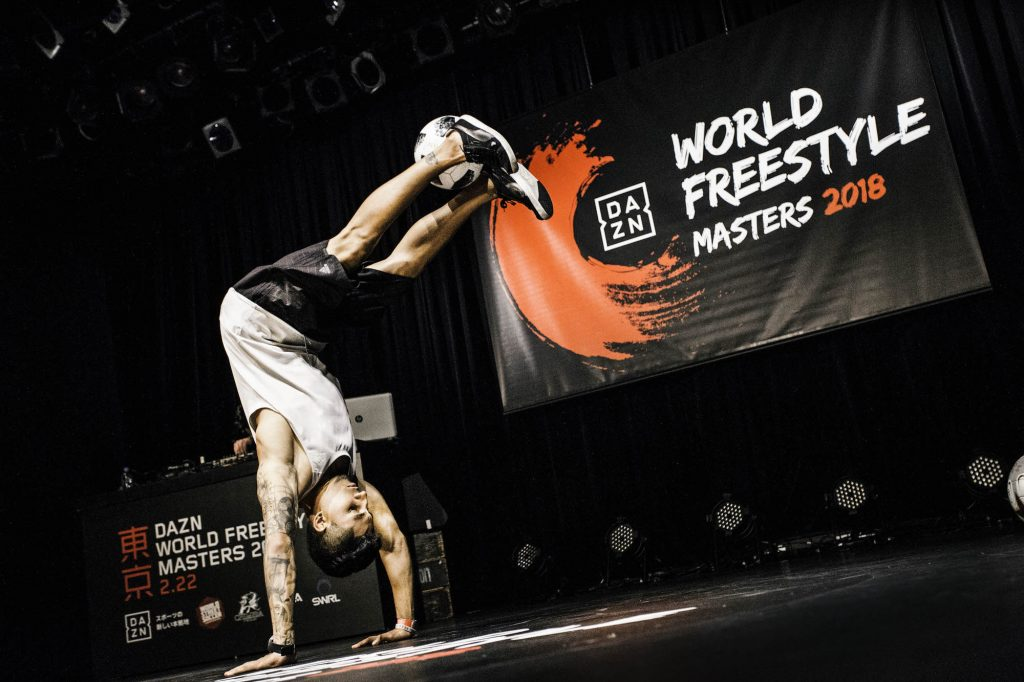 DAZN World Freestyle Masters 2018