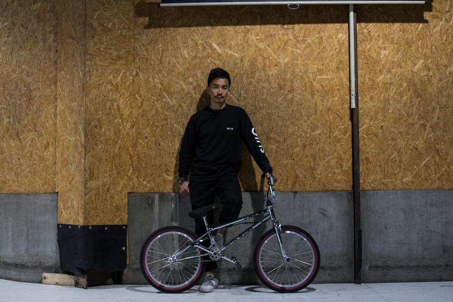 BMXライダー田中光太郎