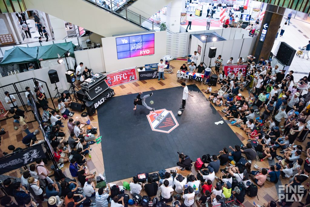 Japan Freestyle Football Championship 2018 supported by CHIMERA TV&GAMES