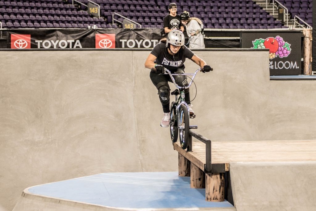 The Story of 『Women's BMX Park Demo at X GAMES Minneapolis 2018 』
