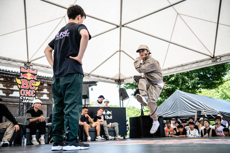 B-Boy Hokt and B-Girl Ami