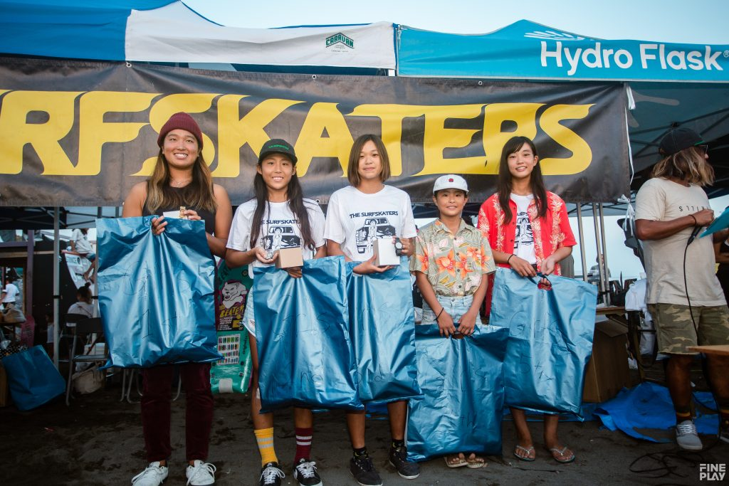 THE SURFSKATERS 17 Result