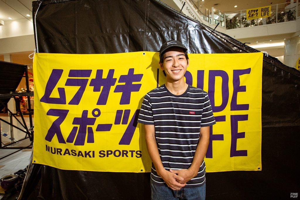 池田大亮(いけだ だいすけ/スケートボード/オリンピック強化指定選手)