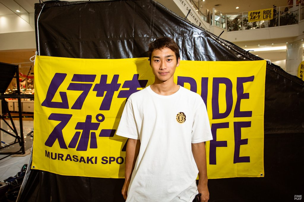 佐川 涼(さがわ りょう/スケートボード/オリンピック強化指定選手)