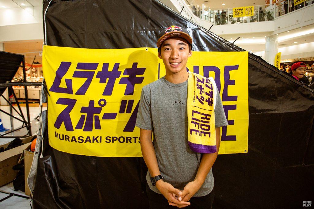 中村輪夢(なかむら りむ/BMX/オリンピック強化指定選手)