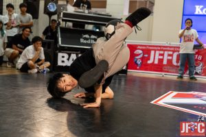 Red Bull Street Style World Final(世界大会)2016 準優勝 Japan Freestyle Football Championship(全国大会)2016/2018 優勝 Asian Freestyle Football Championship(アジア大会)2015 優勝 JF3ランキング:1位(820ポイント)