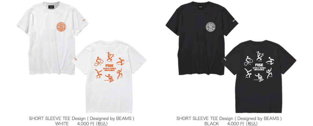 Designed by BEAMS Tシャツ