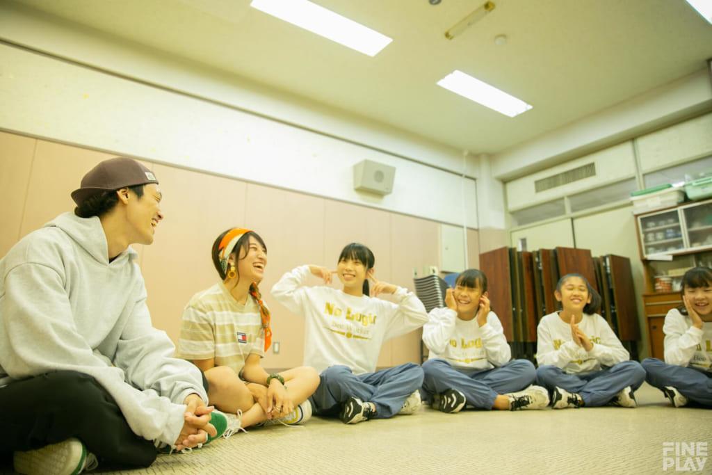 大森D.D.S 写真左からdash、はち、Yu-Yu、SUZU、Pico、NoNo / photo by HAMASHOW