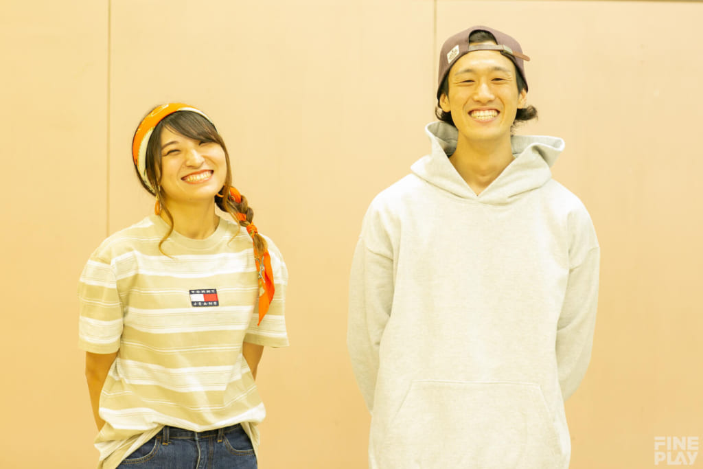 写真左からはち、dash / photo by HAMASHOW