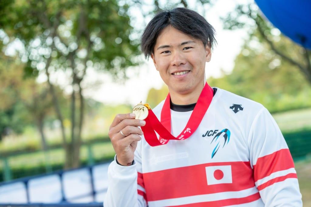 長迫吉拓 photo by  Japan Cycling Federation