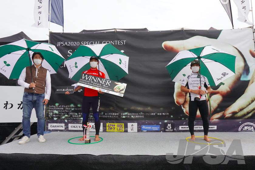 左から優勝西慶司郎、2位大原洋人 photo by JPSA
