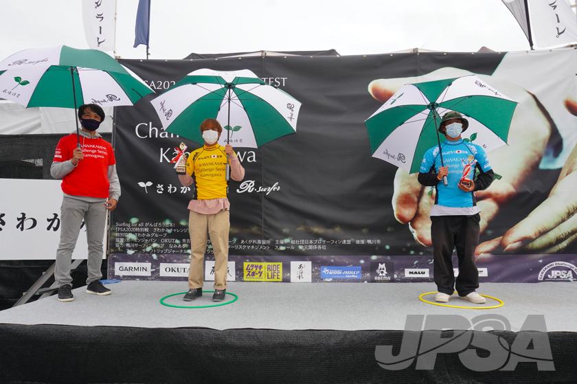 左から3位西優司、金沢呂偉 photo by JPSA