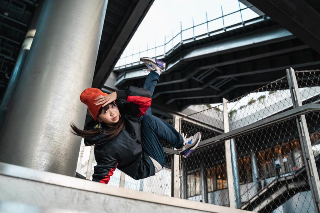 B-GIRL Yumeto photo by Koki Yamaguchi