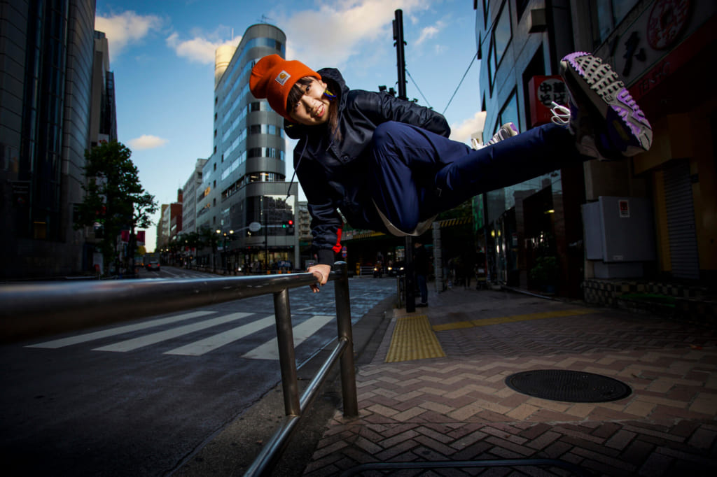 B-GIRL Yumeto photo by Jason Halayko