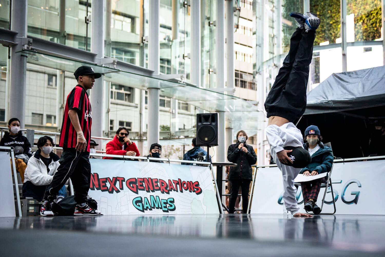 BBOY HARUYA ©︎NEXT GENERATIONS/Jason Halayko